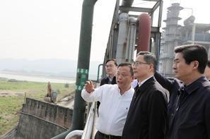 四川省彭宇行副省长视察福华精细化工园区